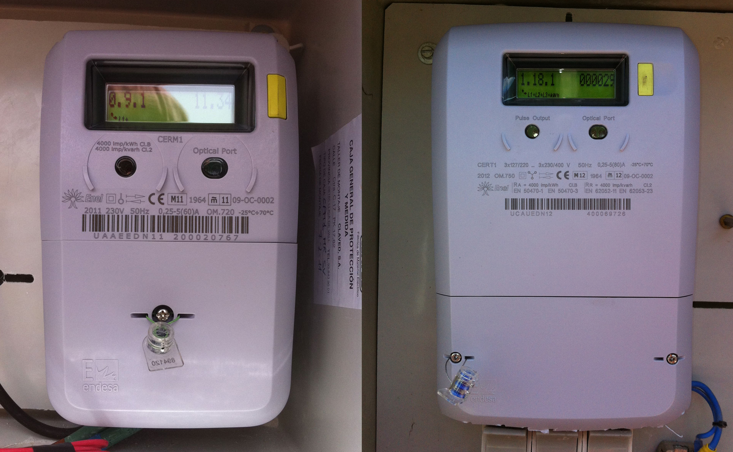 Three Phase Electricity Meter Mechanical : Electrician alhaurin el grande costa del sol solutions