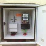 New meter enclosure