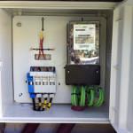 New meter enclosure